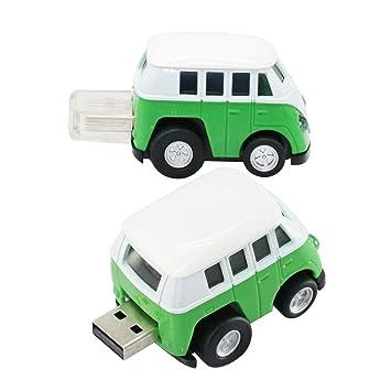 Amazon.com: Bus Model Pen Drive USB Memory USB Flash Drive ...