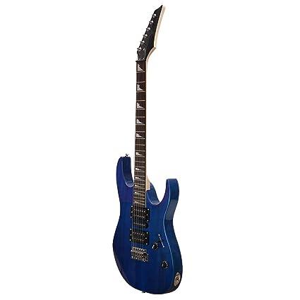 NUYI-4 Nueva Guitarra eléctrica Genuina Serie Guitarra eléctrica,Blue