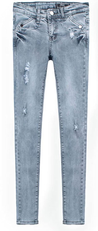 AvaCostume Womens Brooke Low Waist Skinny Jeans In Grey Wash