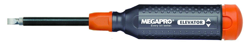 Megapro 151ELEV-CH/OR-C Alloy Hex Elevator Multi Bit 15 in 1 Screwdriver, Steel by Megapro (Image #1)