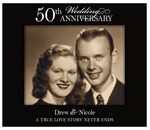 LifeSong Milestones Personalized 50th Wedding Anniversary Photo Frame (A True Love Story) for Wall or Desktop (50th Wedding Anniversary)