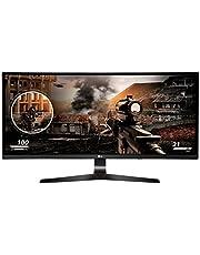 "Monitor Gaming LED-Lit LG 34UC79G-B.AWM de 34"", Resolución 2560 x 1080, 2 puertos USB, 144 Hz, Color negro"