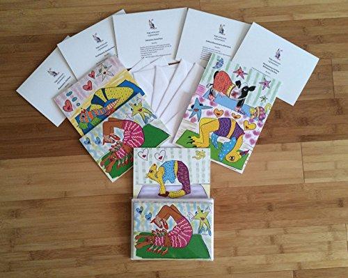 Amazon yoga greeting cards handmade yoga greeting cards m4hsunfo