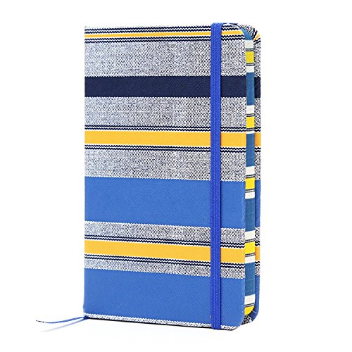 (BIOBAY Classic Ruled Travel Notebook | Hardcover Writing Journal and Diary – Premium Lined Paper and Durable Design - 192 pages - Fashionable)