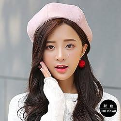 Hat Beret Rosa Coreana