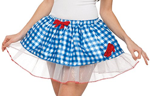 [Rubie's Costume Co Women's Wizard Of Oz Dorothy Skirt, Gingham, One Size] (Gingham Womens Costumes)