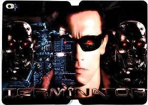 [PU del tirón del cuero] mini iPad funda,The Terminator [Theme] iPad Mini 4 funda [Con Pantalla Protecto] JL9415