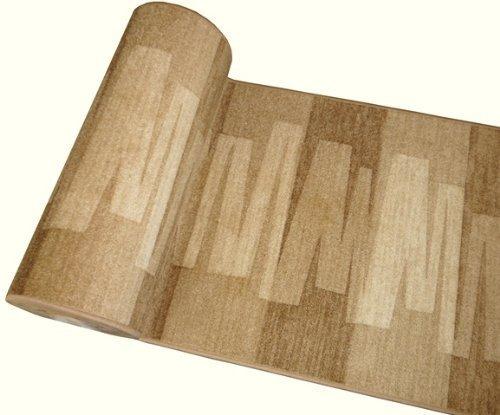 Ta-Bo Lifestyle Läufer Teppich Brücke Teppichläufer Veneto 80 cm breit beige, 80x200 cm