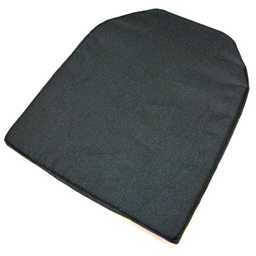 AEG-Airsoft-Wargame-Tactical-Gear-2pcs-PTS-Dummy-Model-Kit-High-Density-Soft-Foam-Vest-Plate-Black-Large-Size