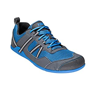 Xero Shoes Prio - Trail and Road Running, Fitness, Athletic, Barefoot-inspired Shoe - Men's Blue 9.5