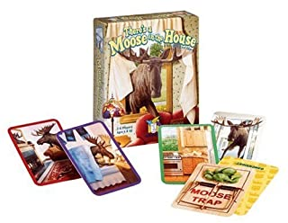 Gamewright There's A Moose in The House (B00074FYAU) | Amazon Products