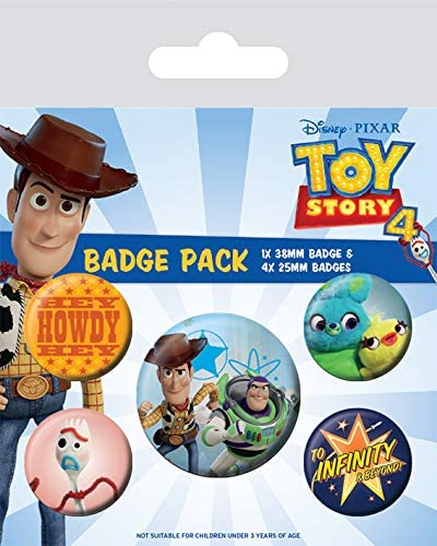Pyramid International Pack CHAPAS Toy Story 4 Friends FOR Life ...