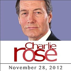 Charlie Rose: Marion Cotillard, Andrew Solomon, Eugene Jarecki, Patricia J. Williams, and Michelle Alexander, November 28, 2012 Radio/TV Program