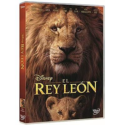 El Rey León DVD (imagen real)