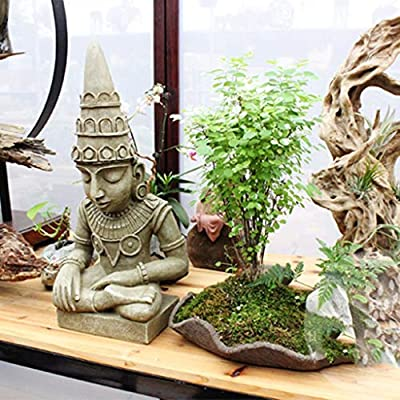 dxx Art Deco Modelo Animal Decoración Esculturas de jardín Decoración de jardín Decoración de Buda Entrada Decoración Escultura de jardín al aire libre,gris,Los 48 * 23 * 16cm: Amazon.es: Bricolaje y herramientas