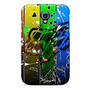 Perfect Fox Racing Abstract Case Cover Skin For Galaxy S4 Phone Case