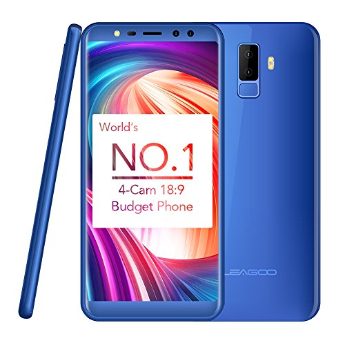 LEAGOO M9 2GB+16GB 5.5 inch LEAGOO OS 3.0 (Android 7.0) MTK6580A Quad Core up to 1.3GHz WCDMA & GSM (Blue)