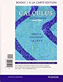 Calculus : Early Transcendentals, Books a la Carte Plus MyMathLab/MyStatLab Student Access Kit, Briggs, William L. and Cochran, Lyle, 0321977297