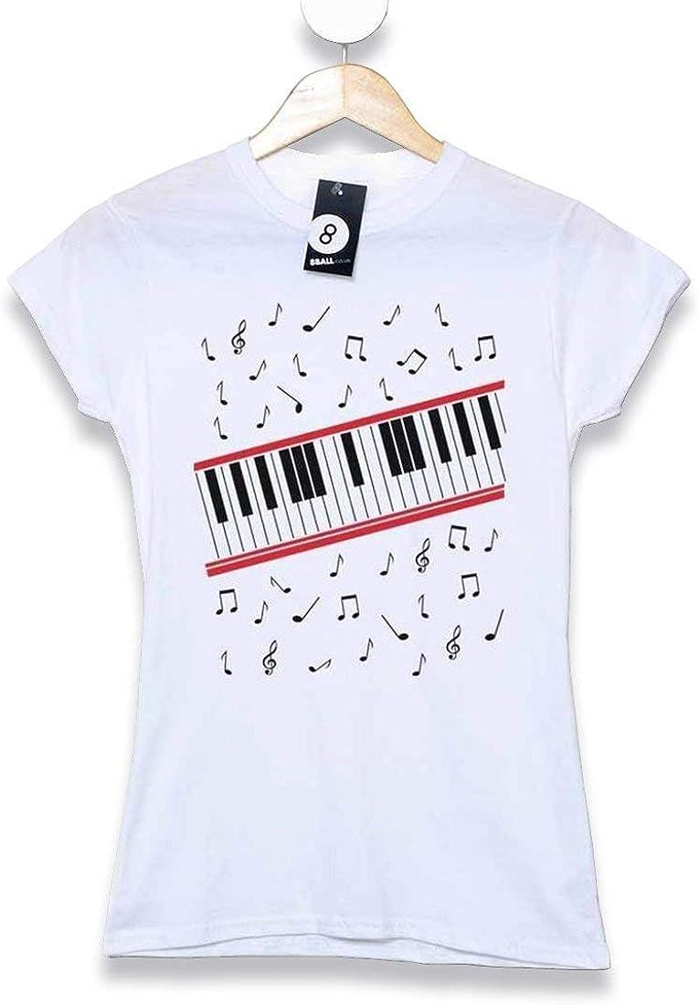 Hombre Michael Jackson Camiseta- Beat It Piano - White - Medium: Amazon.es: Libros