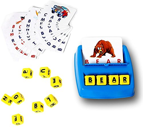 Verbaby Matching Letter Game, Word Recognition, Spelling, Memory skills, Strategic Thinking, 3 Years & Up