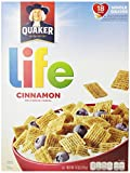 Attention Life Cereal lovers - there's room for two loves in your life. We've spiced up your favorite cereal with the lively taste of cinnamon. Enjoy the wholesome sweetness of Quaker Life Cereal – and cinnamon – made with whole grain Quaker Oats, an...