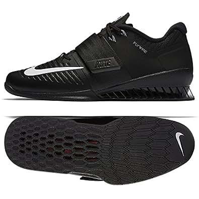 Nike Men's Romaleos 3, Black / White, 7 M US