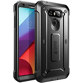 reputable site 2d312 cc85d Amazon.com: Spigen Rugged Armor Designed for LG G6 Case / G6 Plus ...