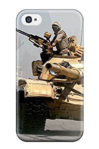 7433381K39486321 Premium Iphone 4/4s Case - Protective Skin - High Quality For Tank