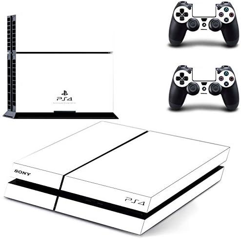 qkonsole PS4 Color Blanco Diseño Skin Sticker Playstation 4 vinilo protector de pantalla – mate: Amazon.es: Electrónica