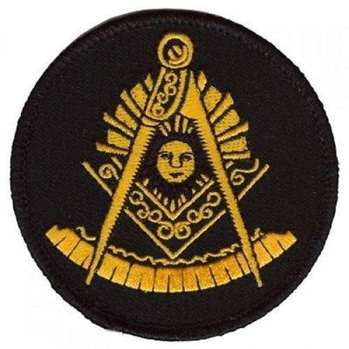 Masonic Past Master MASON Masons Embroidered Funny MC Club Biker Patch PAT-3305