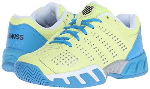 K-Swiss Bigshot Light 2.5 Zapatillas, Mujer lima / azul