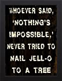 18x24 Nothing Impossible by Stimson, Diane: Studio Black DS-RC-249A
