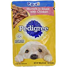 PEDIGREE Choice Cuts Puppy Morsels in Sauce With Chicken Wet Dog Food 3.5 Ounces (16 Count)