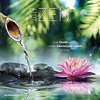 Zen 2019 - Broschürenkalender (30 x 60 geöffnet) - mit Weisheiten - Meditationskalender- Wandplaner