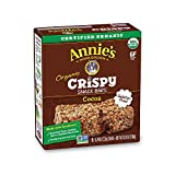 Annie's Homegrown Organic Cocoa Crispy Snack Bars, 3.9 Ounce