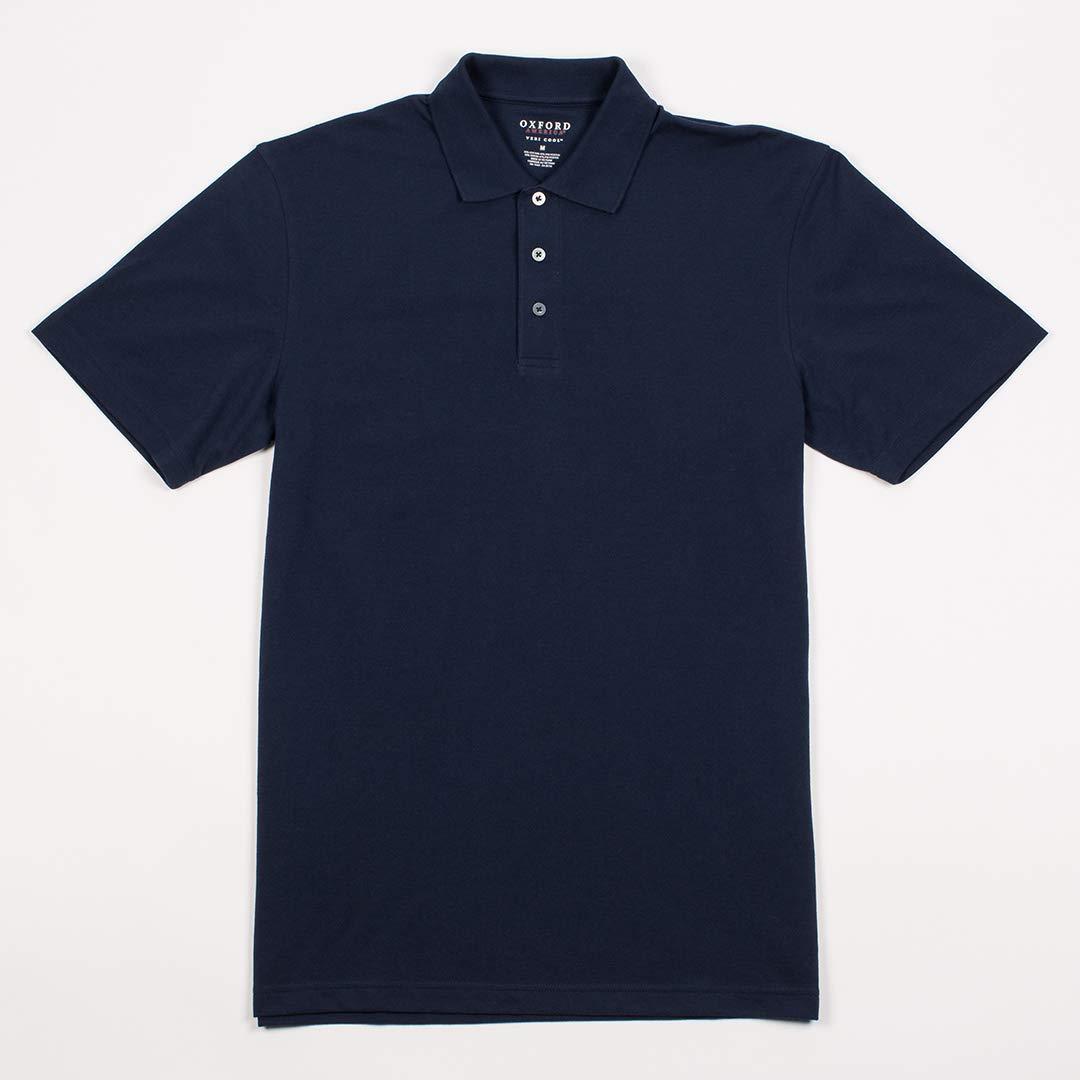 Oxford Herren 3 Button Short Sleeve Polo
