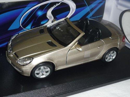 Maisto Mercedes SLK R171 2004-2011 Cabrio Grau Beige 1/18 Modellauto Modell Auto