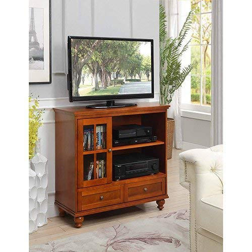 Convenience Concepts 8067000CH Tahoe Highboy TV Stand ()