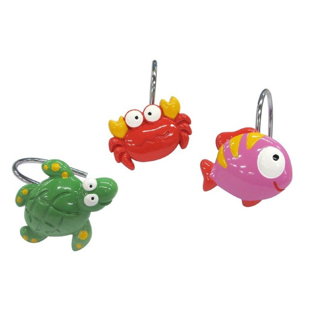 Allure Home Creation Multicolor Fishtail - Shower Hooks
