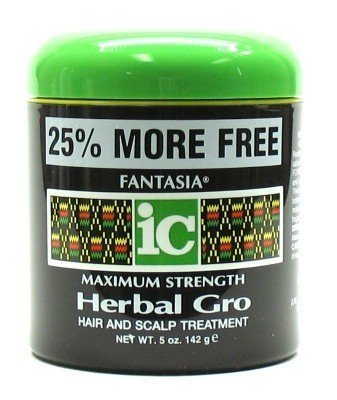 Fantasia Herbal Gro 4 oz. Jar Maximum Strength with Free Nail File by Fantasia IC