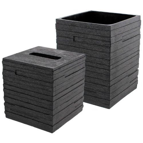 Gedy QU1011-14 Quadrotto Bathroom, Black