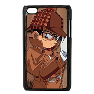 Japanese Cartoon Detective Conan Hard Plastic Back Case Cover Skin for IPod Touch 4