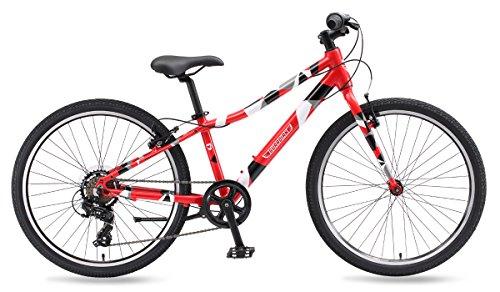 Guardian Lightweight Kids Bike 24 Inch, Safe SureStop Brake System, Kids Mountain Bike, Bike Sizes for Kids 4' 2