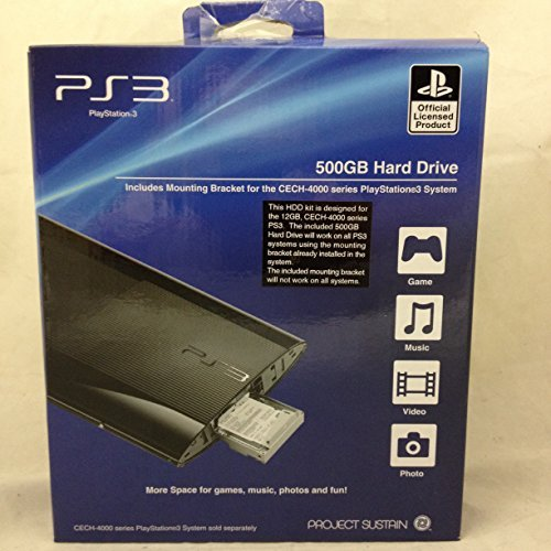 Playstation 3 Memory - Ps3 500gb Hard Drive