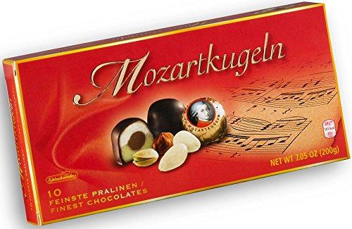 200 Piece Box (Schluckwerder Mozart Kugeln 10 Piece Box Set 200g/7.05 oz.)