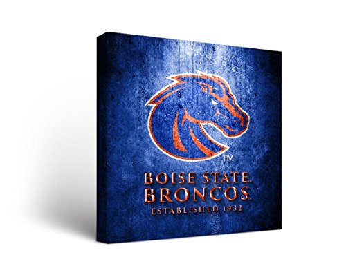 Victory Tailgate Boise State University Broncos Canvas Wall Art Museum Design (18x24)
