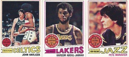 1977 1977 78 Topps Basketball komplett 132 Karten-Set von Topps Kaugummi