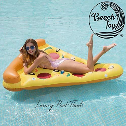 beachtoy colchón gigante lomo de Pizza hinchable en stock en ...