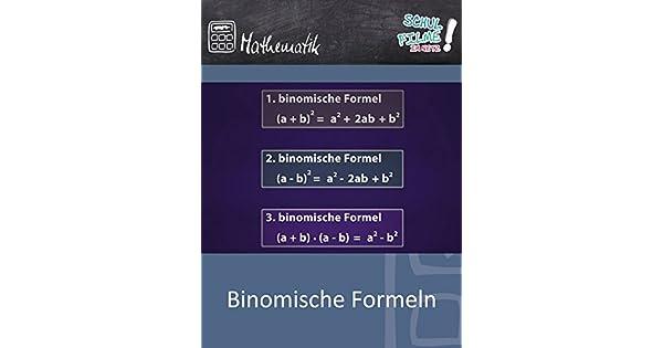 binomische formeln song