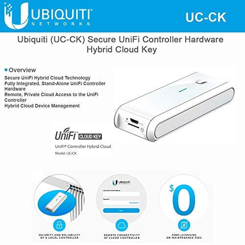 UBNT Networks Ubiquiti (UC-CK) Secure UniFi Controller Hybrid Cloud Key, Stand-Alone UniFi Controller Hardware ()